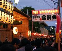 清瀧神社宮入