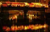 テキヤの夜景