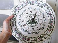 ポートメリオン 絵皿時計